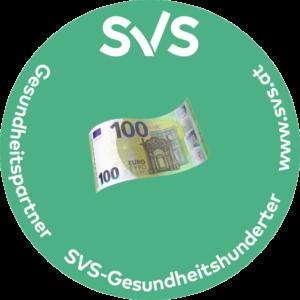 SVS Gesundheitshunderter für Shiatsu sowie für Burnoutprävention und Stressmanagement
